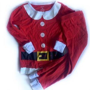 Carters Santa Christmas Pajamas